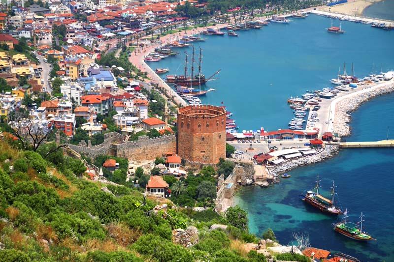 Kahramanmaraş - Antalya uçak bileti