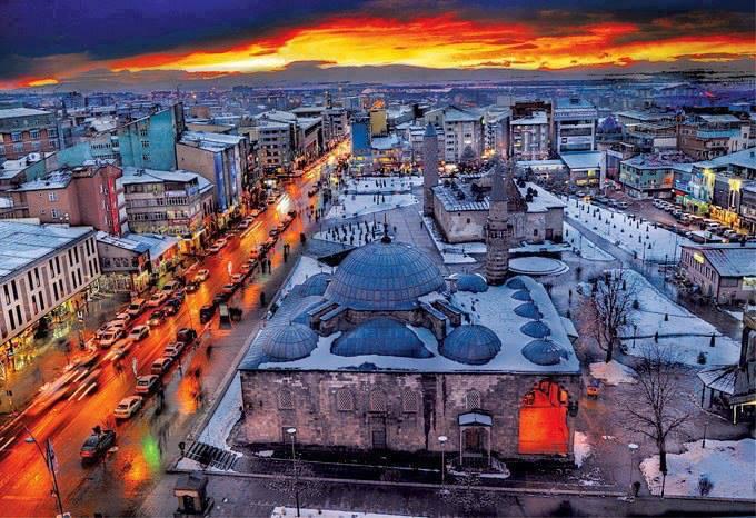 Kahramanmaraş - Erzurum uçak bileti